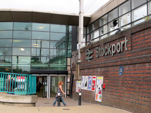 stockport Train Station