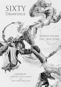 Sixty Drawings at Bankley Studios Levenshulme