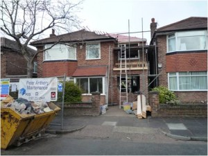 Extension in Heaton Moor