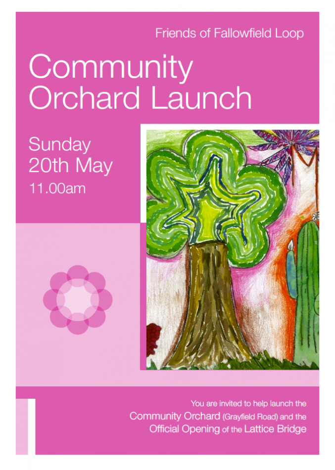 Orchard Launch Fallowfield 20th mary
